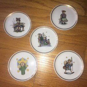 Other - Collectable Miniature Porcelain Christmas Plates